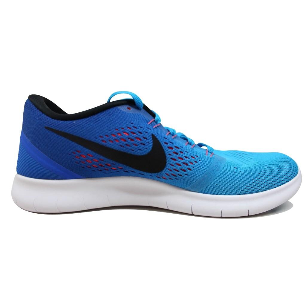 Nike Free Run Blue GlowBlack Racer Blue Bright Crimson