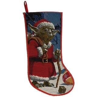 "Star Wars 19"" Yoda Tapestry Stocking"