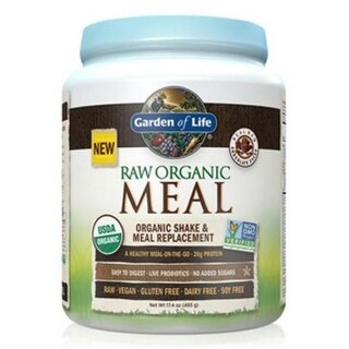 Garden of Life Raw Organic Meal Chocolate 493 Grams Meal Replacement