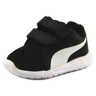 Puma ST Trainer Evo V Infant Round Toe Synthetic Black Sneakers