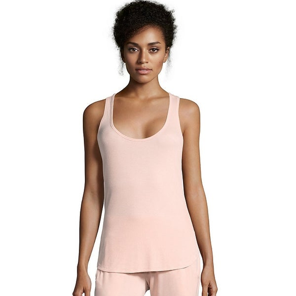 Maidenform Rib Tank - Color - Peach Whip - Size - L