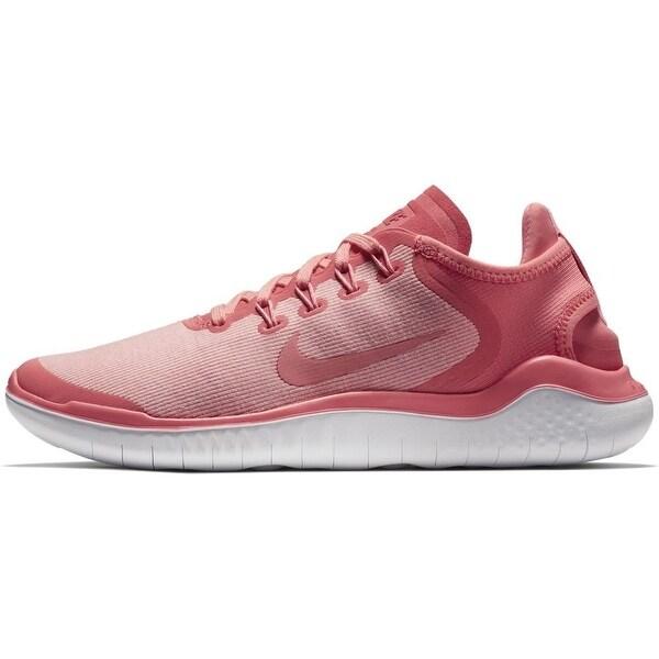 Nike Free RN 2018 Women's Running Shoes Sea CoralTropical PinkVast Grey