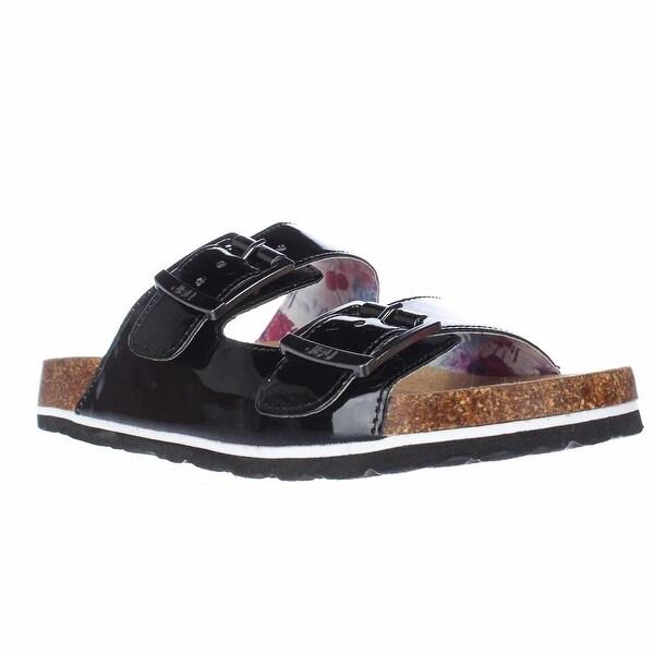 JBU by Jambu Jambu Ellen Too Slide Sandals, Black Patent - 7 us / 37 eu
