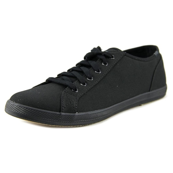 Keds Roster LTT Core Men Round Toe Canvas Black Sneakers