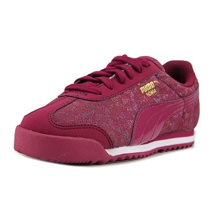 Puma Roma Basic Gleam PS Youth Synthetic Burgundy Fashion Sneakers