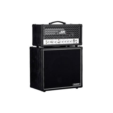 Monoprice 30-Watt 1x12 Guitar Stack Tube Amplifier With Celestion V30 and Reverb - Stage Right Series