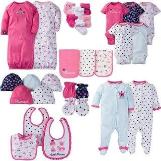 Gerber Baby Girl 30 Piece Essentials Gift Set, Princess