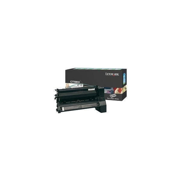 Lexmark C7700KH Black High Yield Toner Cartridge For X772e / C772dn - 10000 Pages