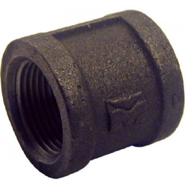 PanNext B-CPL07 Right Hand Coupling 3/4, Black