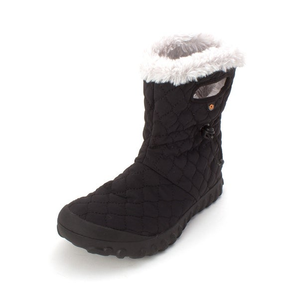 Bogs Womens w bmoc quilt sm Fabric Closed Toe Mid-Calf Cold Weather Boots