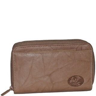 Buxton Heiress Double Zip Organizer Wallet, One Size