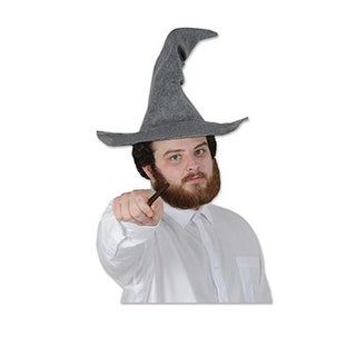 Club Pack of 12 Whimsical Fantasy Wizard Hats Novelty Costume Accessories
