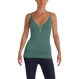 Free People Womens Tank Top Criss Cross Lace-Up (3 options available)