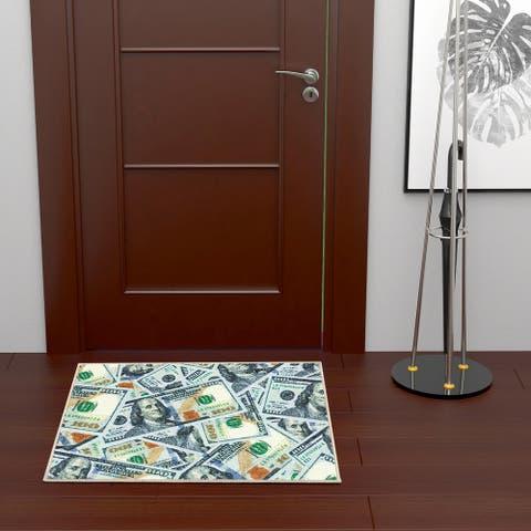 Ottomanson Siesta 100 Dollar MultiBill Print Area Rug