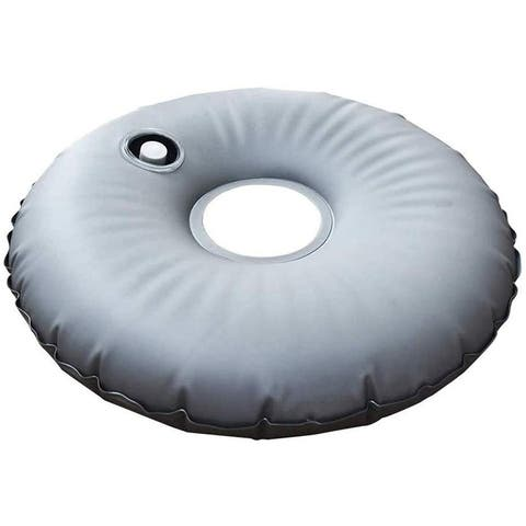 19lbs 20'' Round Water Weight Bag for Market Umbrella Base