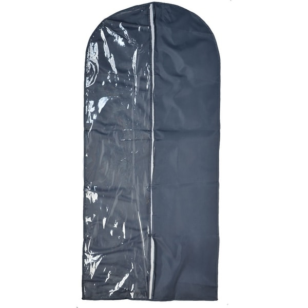 dc8da27ac63a Travel Home Clothes Suit Dress Dustproof Cover Storage Protector Bag Dark  Gray