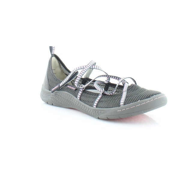 Jambu Sideline Encore Women's Sandals & Flip Flops Charcoal/Pink