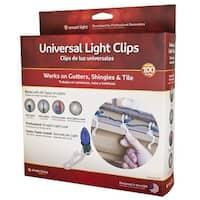 Simple Living Solutions 712100 Universal Light Hanger Clips, White