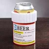 The Right Medicine Beer Can Cooler