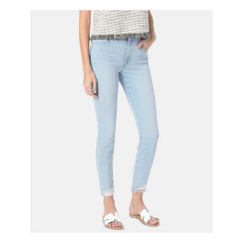 JOE'S Womens Blue Skinny Jeans Size 28 Waist