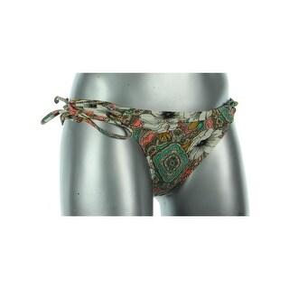 O'Neill Womens Monoco Floral Print Side Tie Swim Bottom Separates - XS