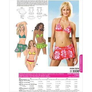 Swimsuit and Wrap-XS-S-M-L-XL