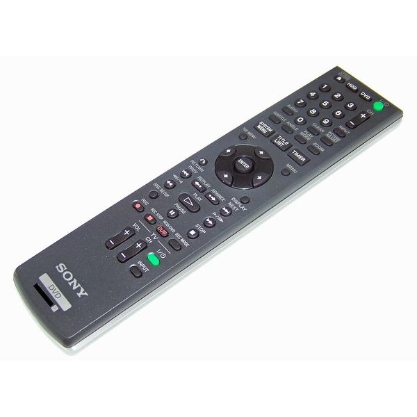 OEM Sony Remote Control Originally Shipped With: RDRHX1080, RDR-HX1080, RDRHX680, RDR-HX680, RDRHX750, RDR-HX750