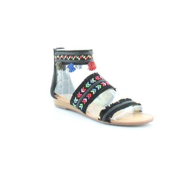 Carlos Santana Tangier Women's Sandals & Flip Flops Black - 10