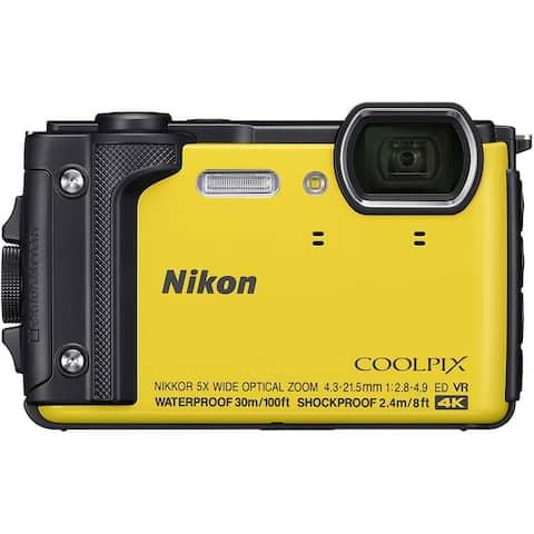 nikon w300 waterproof underwater digital camera with tft lcd, 3,