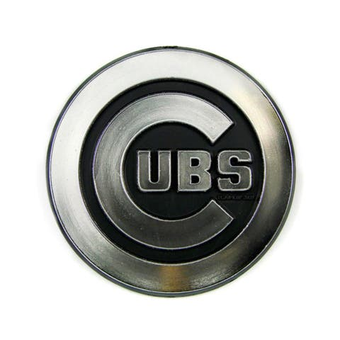 Chicago Cubs Logo 3D Chrome Auto Decal Sticker New Truck Or Car