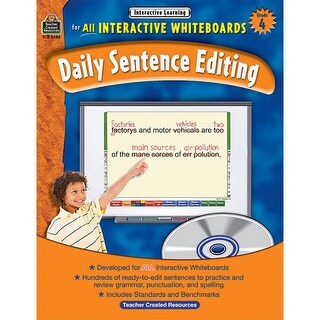 Interactive Learning: Daily Sentence Editing - Grade 4