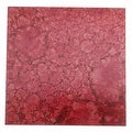 Lillypilly Copper Sheet Metal Square Red Wine Patina 24 Gauge - 3x3 Inch - Thumbnail 0