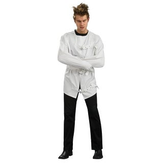 Mental Institution White Straight Jacket Crazy Costume Adult