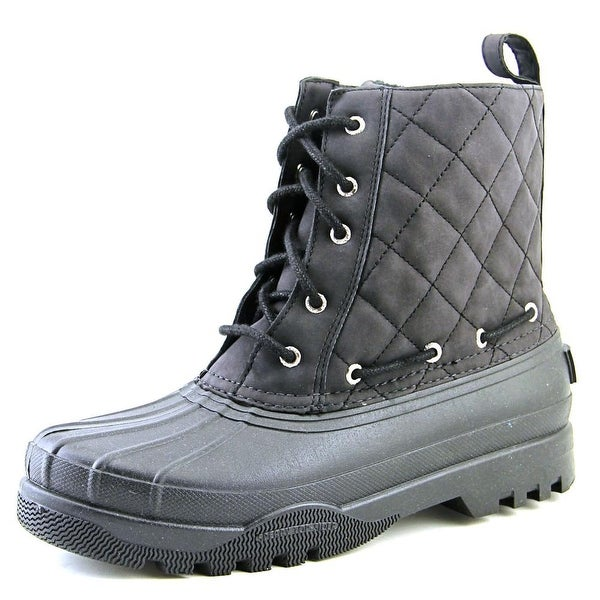 Sperry Top Sider Gosling Women Round Toe Synthetic Black Rain Boot