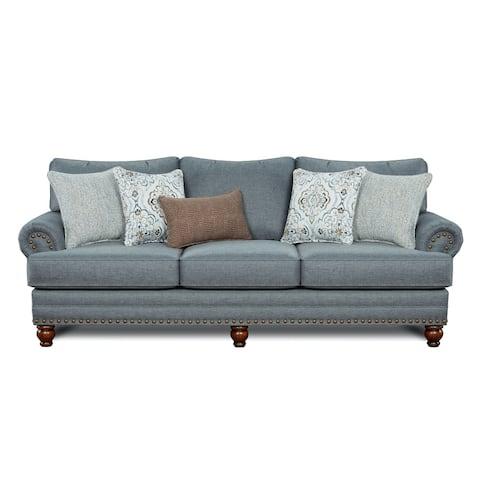 Bates Charcoal Stationary Sofa