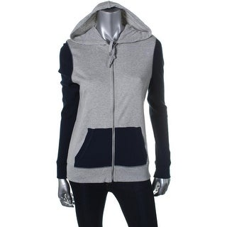 American Living Womens Juniors Colorblock Long Sleeves Jacket - XXL