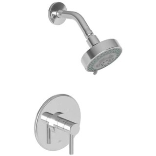 Newport Brass 3-1504BP East Linear Single Handle Pressure Balanced Shower Trim Only with Metal Lever Handle, Less Valve