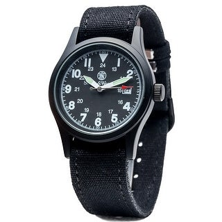 Smith & Wesson Military Watch Black 38mm 3ATM