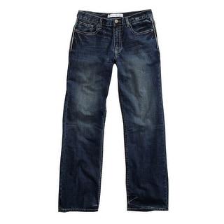 Tin Haul Western Denim Jeans Mens Stitched Blue 10-004-0420-1803 BU