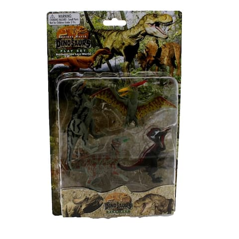 Extinct World Dinosaurs Blister Pack Playset, Style B