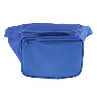 CTM® Multi Pocket Fabric Waist Pack (3 options available)