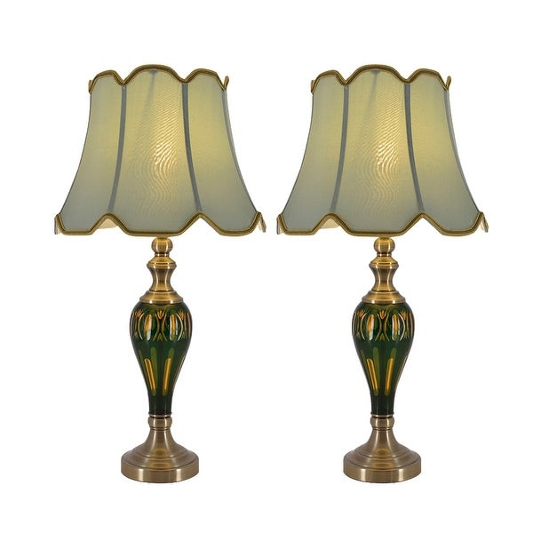 """Petunia 28"""" Table Lamp (Set of 2). Opens flyout."""