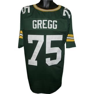 Shop Forrest Gregg Green Tb Custom Stitched Pro Style Football Jersey Xl Black 5 X 8 Overstock 19873167