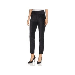 Foxcroft Womens Nina Leggings Velvet Natural Waist