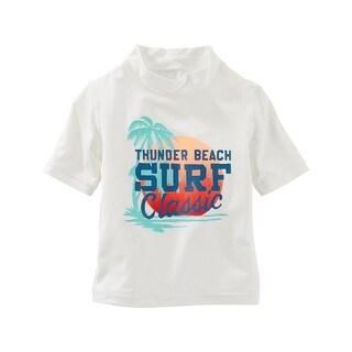 OshKosh B'gosh Baby Boys' Surf Classic Rashguard, 6 Months