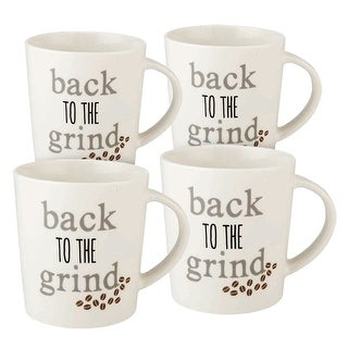 Link to Pfaltzgraff 'Back to the Grind' 18OZ Mug (Set of 4) Similar Items in Dinnerware