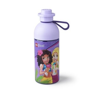 LEGO 17oz Hydration Bottle, Transparent Lilac (Friends) - Multi