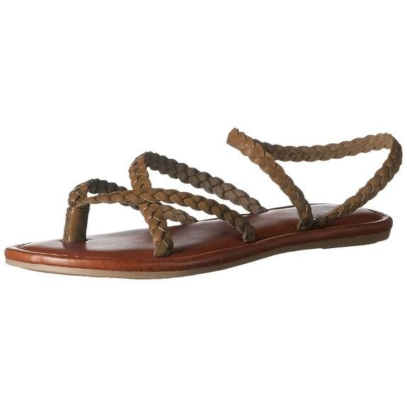 c4ad7cfc64bc Shop MIA Womens Braid Leather Split Toe Casual Strappy Sandals