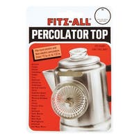 Fitz-All 55700 Replacement Percolator Top, Small, Clear