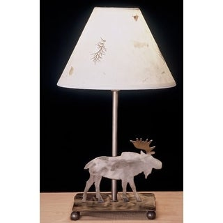 Meyda Tiffany 38855 Accent Table Lamp From The Moose Collection